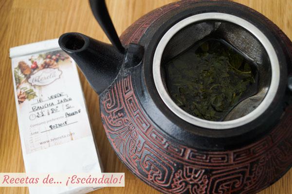 Como infusionar te verde bancha japon