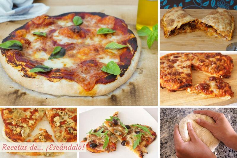 Pizzas Las Mejores Recetas Y Cómo Preparar Masa De Pizza Casera