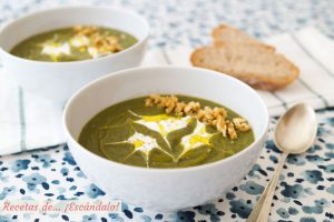 Pure de verduras o crema de verduras. Receta facil, rica y saludable