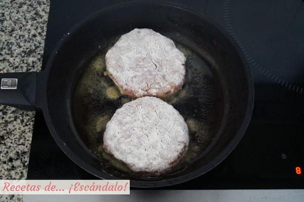 Receta de filetes rusos