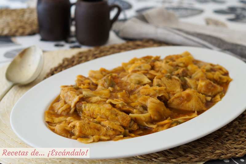 Gazpacho manchego. Receta tradicional