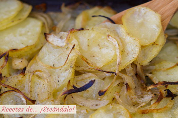 La receta mas facil de patatas panaderas al horno y con mejor resultado