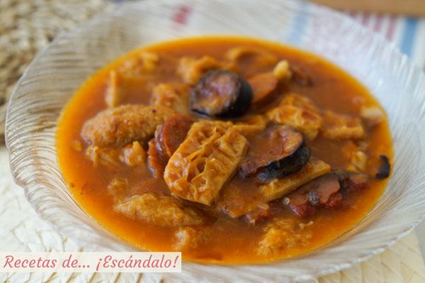 Charming Receta De Callos A La Madrilena. Plato De Cocina Tradicional