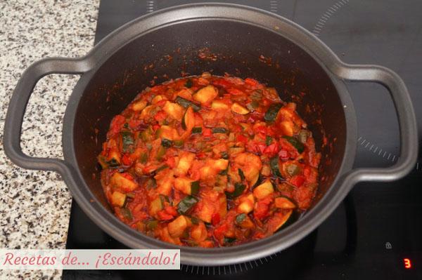 Como hacer pisto manchego tradicional de verduras