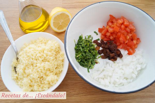 Como hacer tabule o tabbouleh