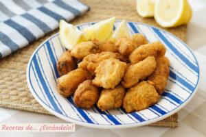 Cazon en adobo o bienmesabe, un aperitivo riquisimo con pescado