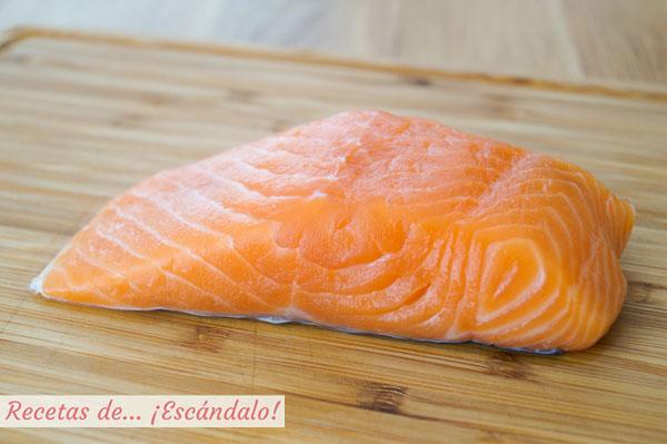 Lomo de salmon fresco