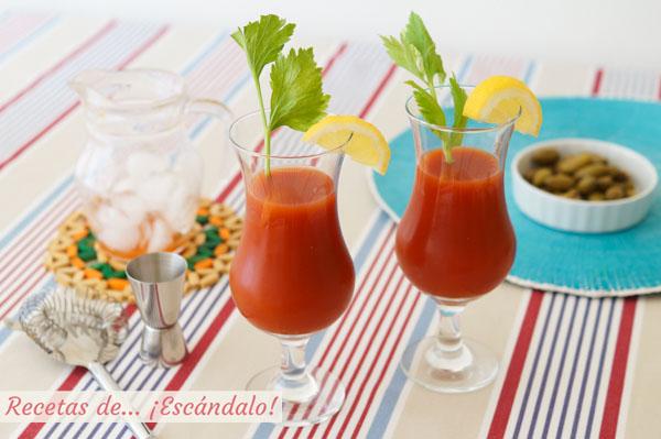 Receta para preparar un refrescante Bloody Mary