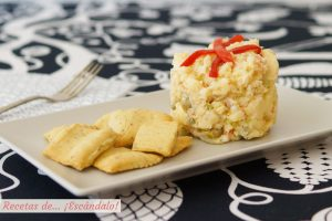Ensaladilla rusa tradicional. Receta e ingredientes