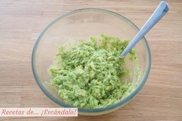 Guacamole receta casera