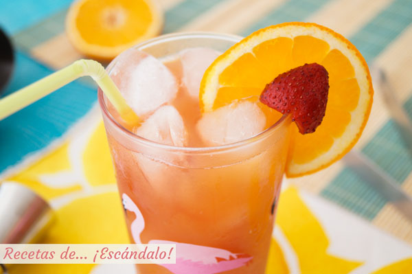 Aprende a preparar el coctel sex on the beach en casa