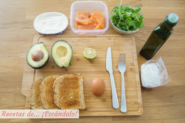 Ingredientes para el sandwich ses illetes