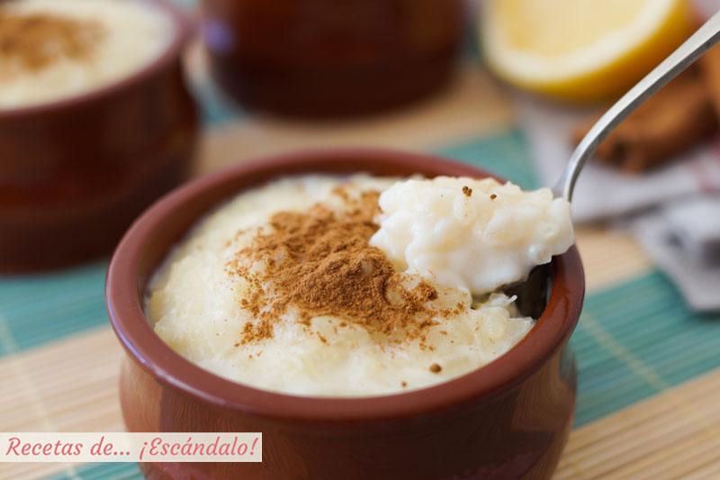 Resultado de imagen para arroz con leche