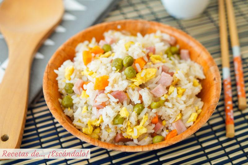 Arroz tres delicias con trucos para un arroz perfecto