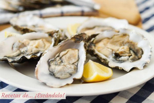 Como abrir ostras y como comer ostras