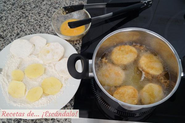 Patatas a la importancia fritas
