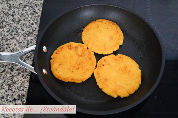 Receta de arepas venezolanas