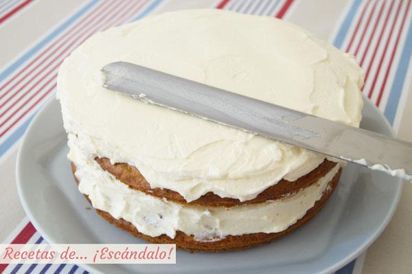 Como hacer tarta de queso o carrot cake