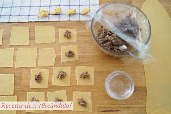 Como hacer tortellinis caseros