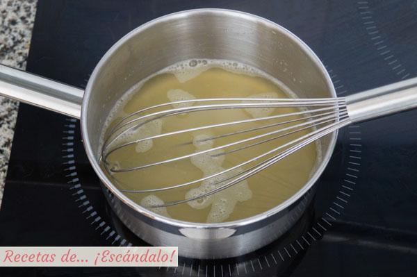 Gelatina de limon para decoracion de la tarta