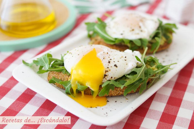 Huevo escalfado o huevo poche perfecto. Conoce los trucos