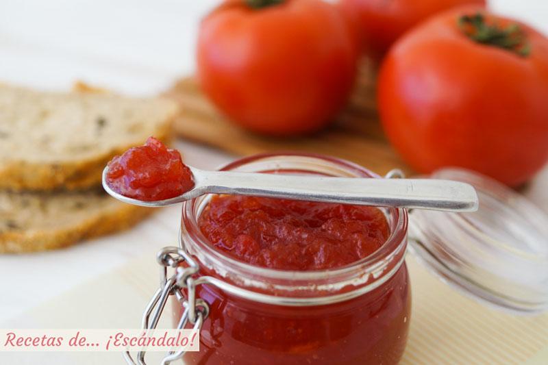 Mermelada de tomate casera. Receta muy facil