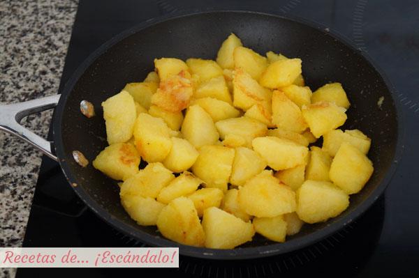 Como hacer patatas salteadas