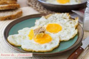 Huevo frito perfecto, con trucos y consejos