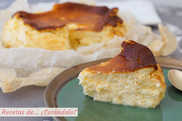 Receta autentica de la tarta de queso La Vina