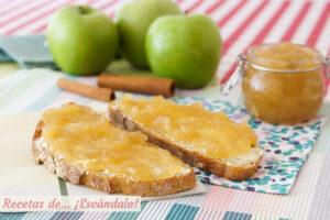 Mermelada de manzana casera con canela. Receta sencilla y deliciosa