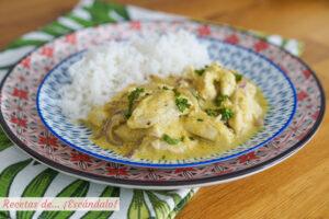 Pollo al curry tierno y muy sabroso con el robot de cocina MyCook One