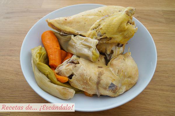 Carne y verduras de la sopa de picadillo