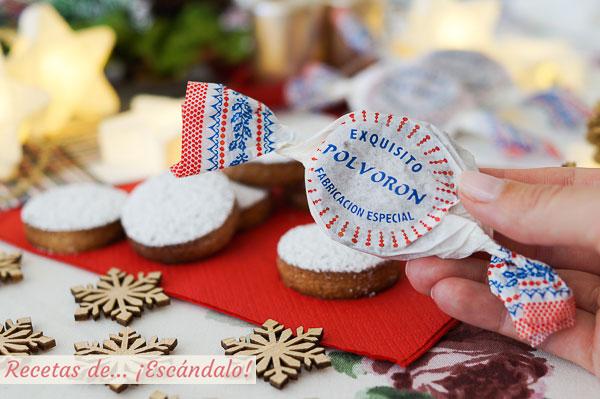 Receta de polvorones caseros con almendra, un dulce navideno