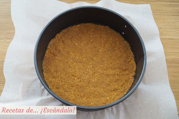 Base de galleta para tarta de turron blando