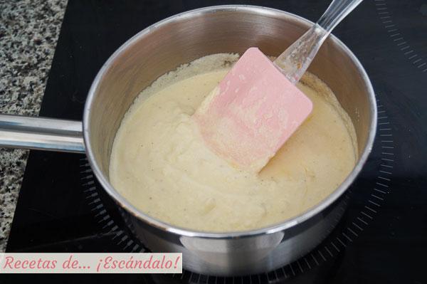 Salsa de queso casera
