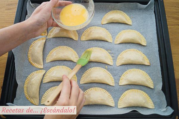 Empanadillas al horno caseras