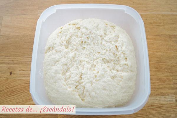 Masa para rollos de canela o cinnamon rolls