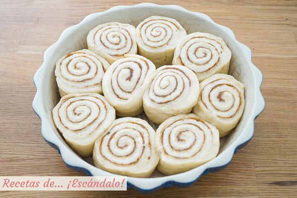 Rollos de canela o cinnamon rolls caseros