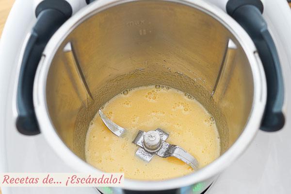 Huevos y azucar bizcocho thermomix