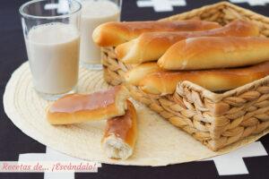 Fartons caseros valencianos y horchata casera, muy facil