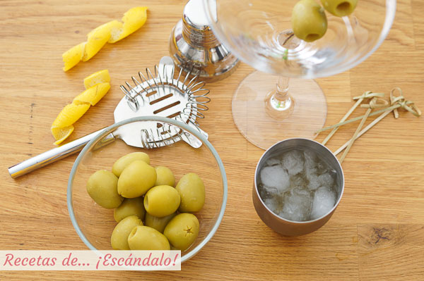 Ingredientes Martini