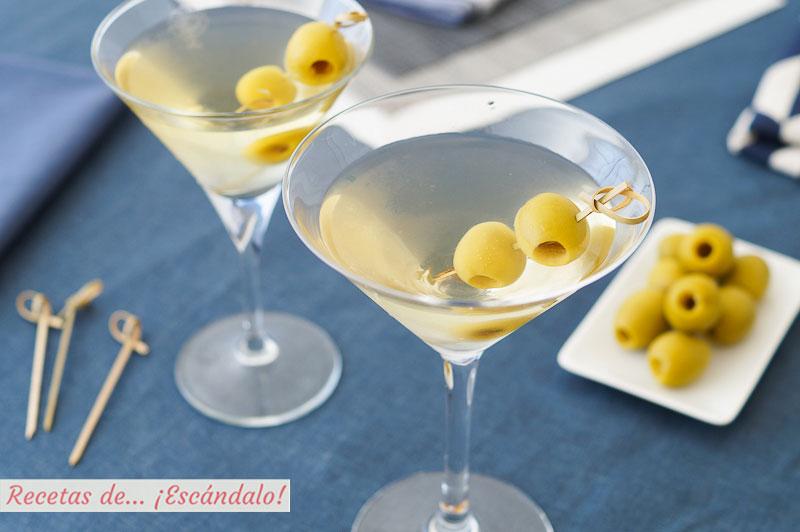 Martini, Dry Martini o Martini seco, un coctel exquisito y sencillo