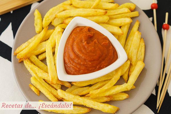 Como hacer ketchup, catchup o catsup casero, facil y delicioso