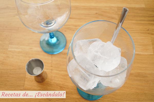 Hielos gin tonic