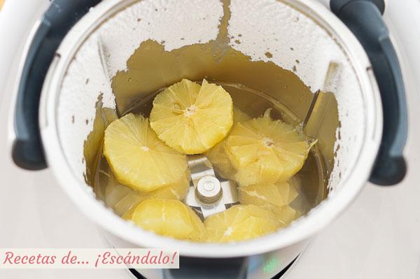 Ingredientes limonada casera con thermomix