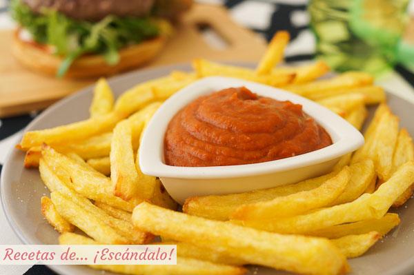 Receta de ketchup, catchup o catsup casero, facil y delicioso