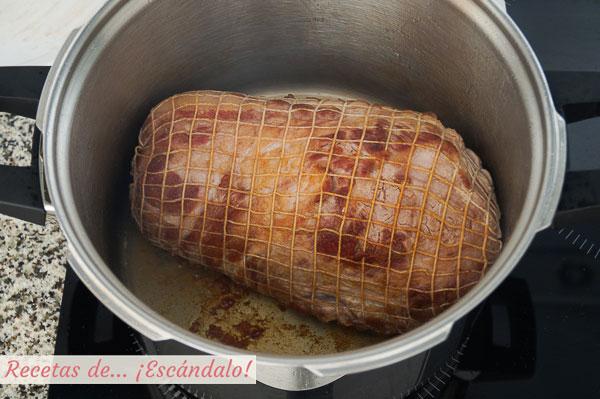 Cabeza de lomo para carne mechada
