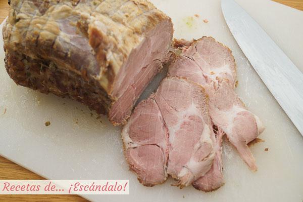 Carne mecha andaluza