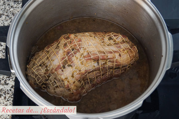 Carne mecha o carne mechada andaluza