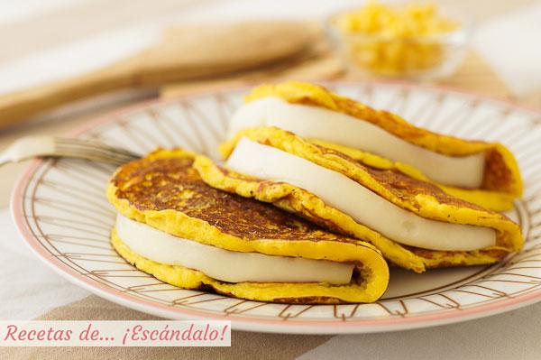 Receta de cachapas venezolanas caseras con queso, irresistibles